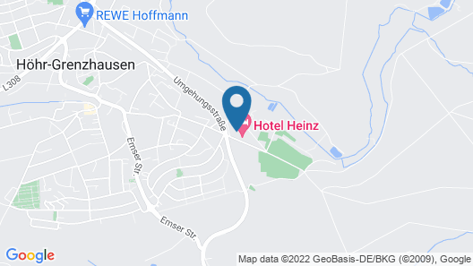 Hotel Heinz Map