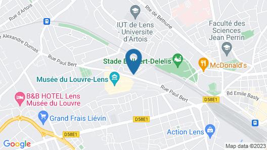 Hotel Louvre Lens - Esprit de France Map