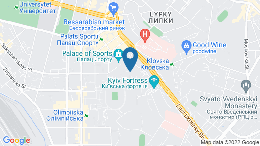 Premier Hotel Rus Map