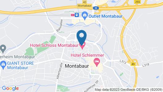 Hotel Schloss Montabaur Map