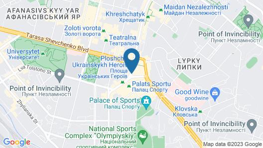 Royal Hotel De Paris Map