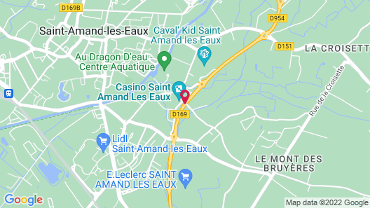 Sure Hotel by Best Western Saint-Amand-Les-Eaux Map