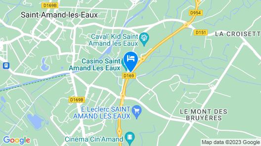 Sure Hotel by Best Western Saint-Amand-Les-Eaux Map
