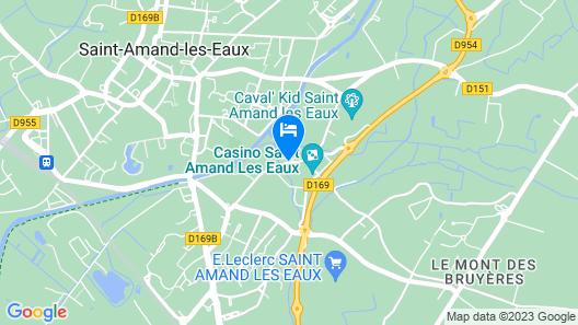 Hôtel du Pasino Saint-Amand-les-Eaux Map