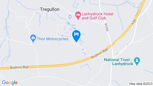 Lanhydrock Hotel & Golf Club Map