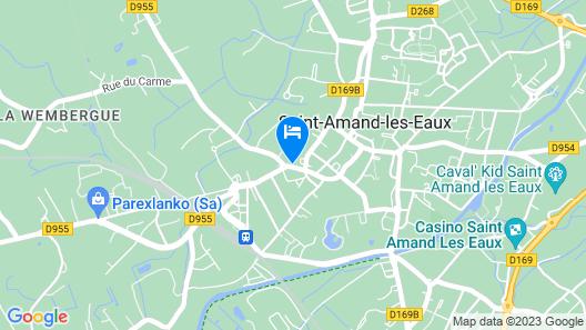 Appartement T2 Centre Ville Map