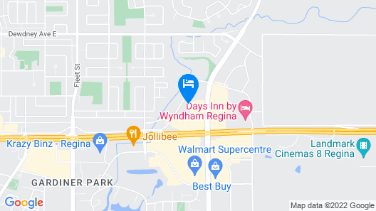 Country Inn & Suites by Radisson, Regina, SK Map