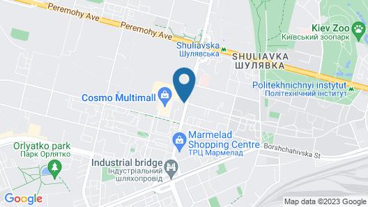 Mercure Kyiv Congress Map