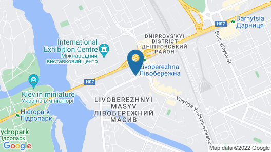 Tourist Hotel Map