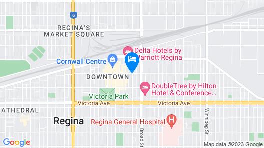 Holiday Inn Express Hotel & Suites Regina, an IHG Hotel Map