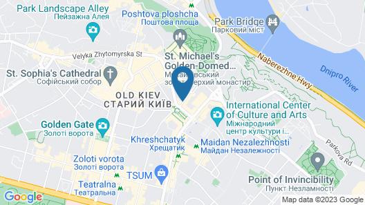 Kiev Apartments Map