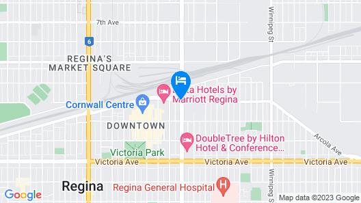 Wingate By Wyndham Regina Map