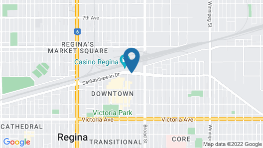 Delta Hotels by Marriott Regina Map