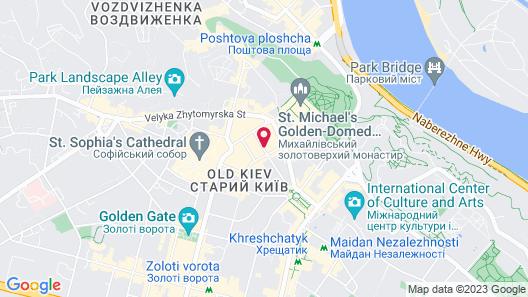 KievRent Apartments Map