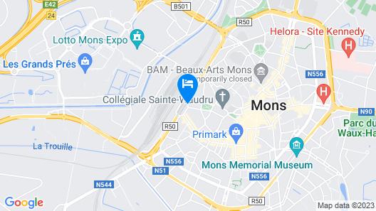 ibis Mons Centre Gare Map