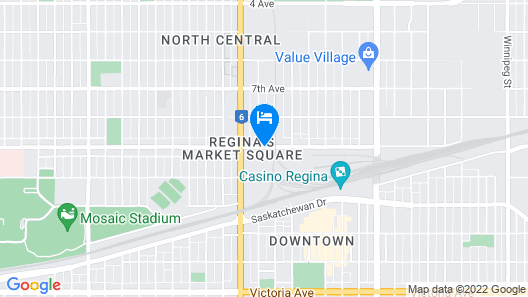 Four Points By Sheraton Regina Map