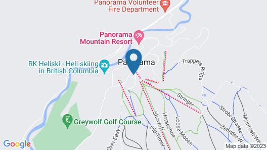 Earl Grey Lodge Map