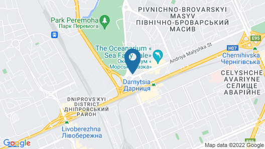 Hotel Bratislava Map