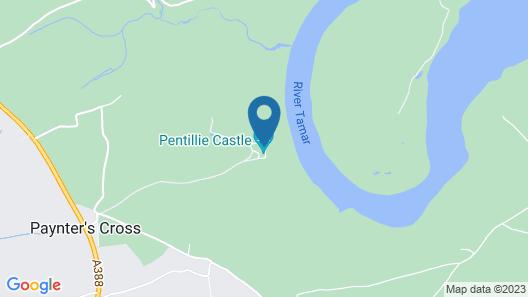 Pentillie Castle & Estate Map