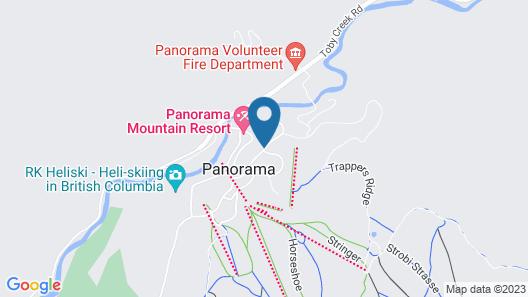 Panorama Vacation Retreat at Horsethief Lodge Map