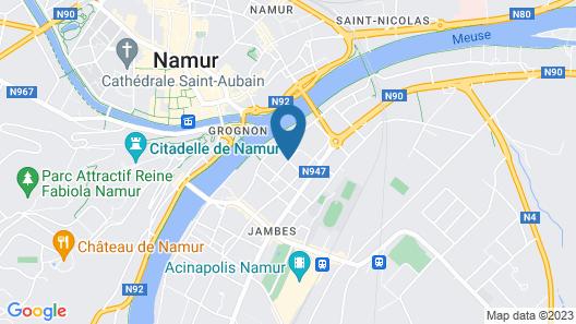 Villa Vanille Map