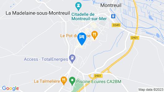 Hotel le Vauban Map