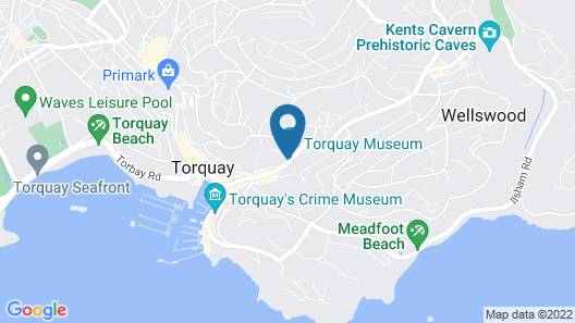 Harbour Heights Guest House Map