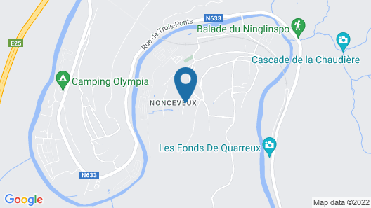 Peaceful Holiday Home in Nonceveux With Swimming Pool, BBQ Map