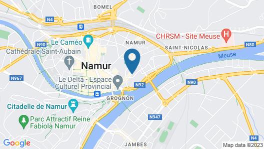 Les Tanneurs de Namur Map