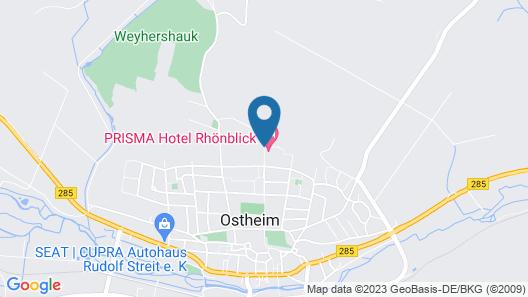 Landhotel Rhönblick Map