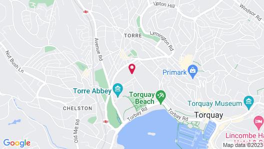 TLH Derwent Hotel Map