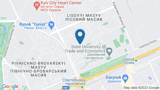 Dniprovsky Map