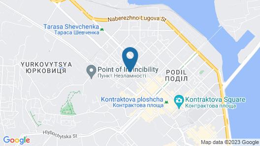 Staro Hotel Map