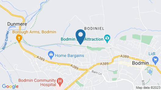 Bodmin Jail Hotel Map