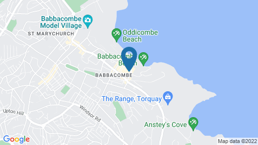 Coombe Court hotel Map