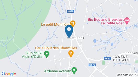 Domaine des Hautes Fagnes Map