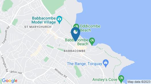 The Babbacombe Hotel Map