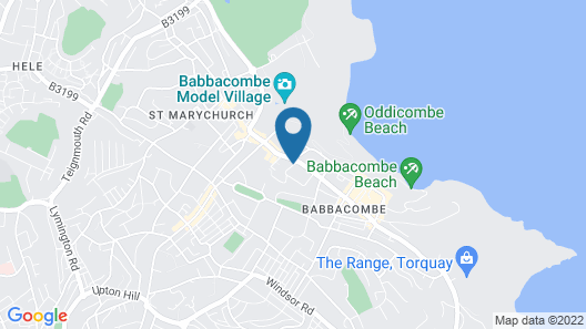 Babbacombe Palms Map