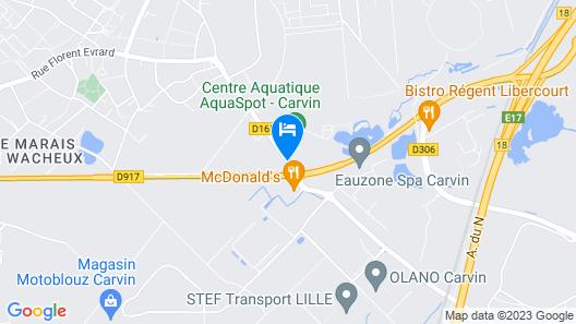 Parc Hotel Map