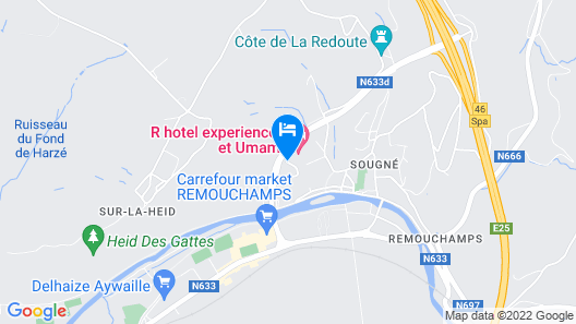 R hotel experiences Map
