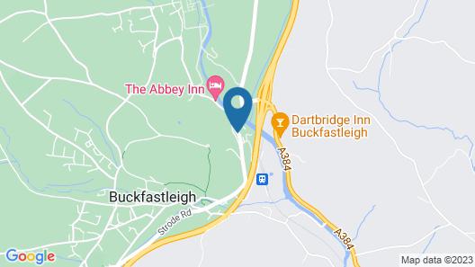 Dartbridge Inn Buckfastleigh by Greene King Inns Map
