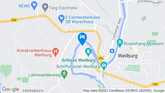 Hotel Lahnschleife Map