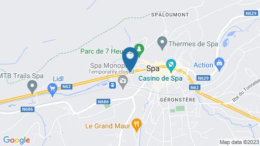Hotel La Reine Map