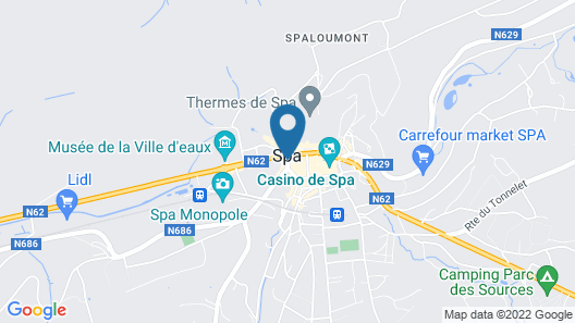 Hotel Restaurant L'auberge Map
