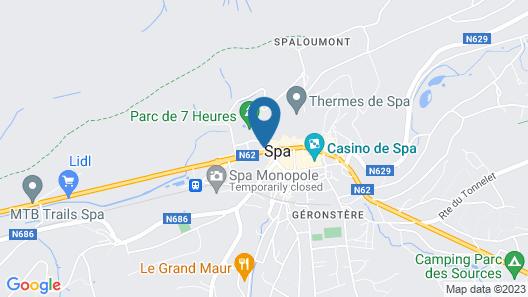 Appartements Les Aras Map