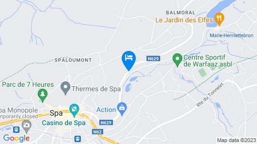 Silva Hotel Spa-Balmoral Map