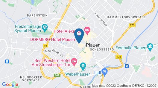 Dormero Hotel Plauen Map