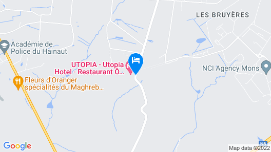 Utopia Hotel Map