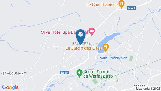 Radisson Blu Balmoral Hotel, Spa Map