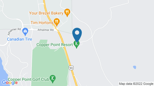 Copper Point Resort Map